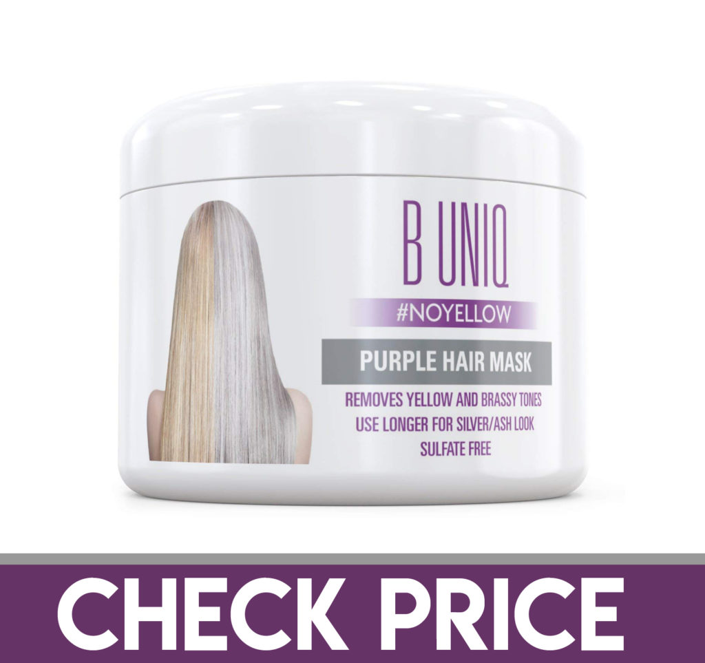 B UNIQ Purple Hair Mask