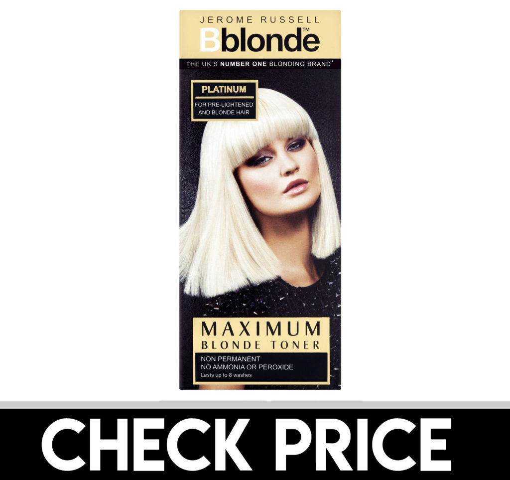 Jerome Russell Color Toner Platinum Blonde