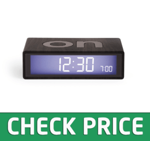 Lexon Flip On/Off Alarm Clock