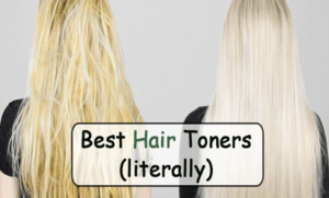 best hair toner