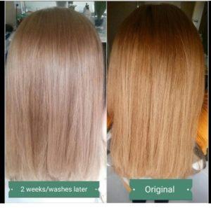 brassy hair toner