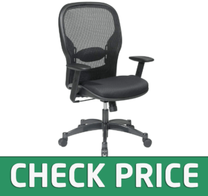 Space Seating Breathable Mesh Managers Chair