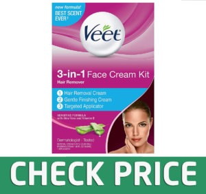 Veet Facial Hair Remover Cream Kit