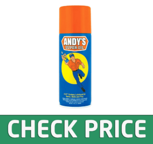 Andy's Super Oil - The World's Best Spray Lubricant