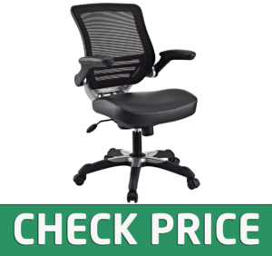 Modway Edge Mesh Back and Vinyl Seat Office Chair