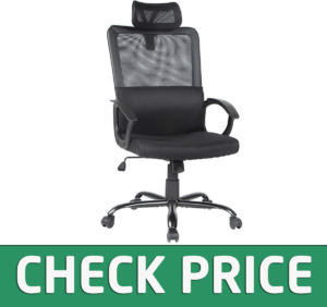 Smugdesk Ergonomic Office Chair Adjustable Headrest Mesh Office Chair