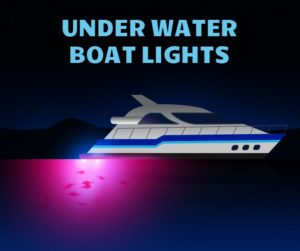 under water boat lights