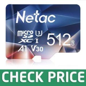 Netac 512 GB UHS-I Memory Card
